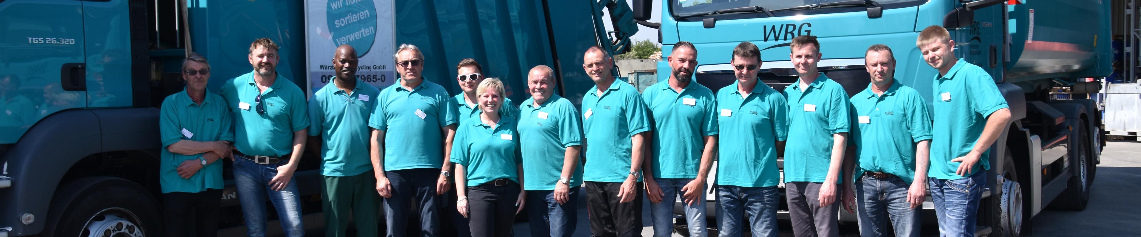 Unser Fahrer-Team